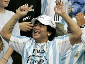 Диего Марадону дисквалифицировали на два месяца