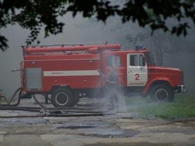 Пожар в торговом центре «Elit» потушен