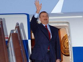 Президент Ильхам Алиев находится с визитом в Иране