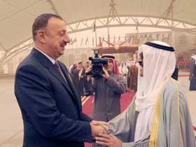 Президент Ильхам Алиев вернулся на Родину