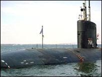 У побережья Ирана столкнулись два корабля США