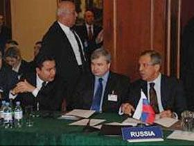 Али Бабаджан провел встречи тет - а - тет с Сергеем Лавровым и Махмудом Мамедгулиевым