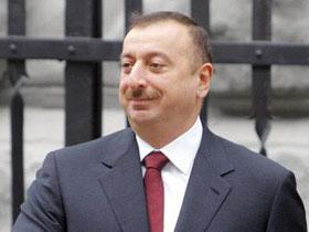 Президент Азербайджана Ильхам Алиев поздравил Айсель Теймурзаде и Араша< ...