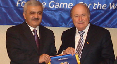 Ровнаг Абдуллаев встретится с президентом ФИФА