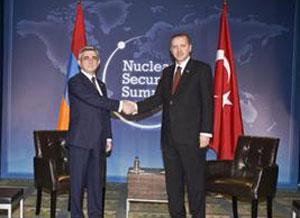 В Вашингтоне завершилась встреча премьер-министра Турции Раджаба Таййипа Эрдогана с президентом Армении Сержем Саркисяном