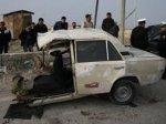 ДТП со смертельным исходом на дороге Баку - Сумгайыт