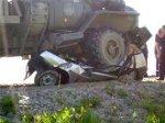 В Москве автомобиль с семьей азербайджанца попал под КаМАЗ