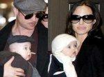 Анджелина Джоли и Брэд Питт показали миру близнецов