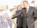 Сдан в эксплуатацию путепровод мостового типа на автомагистрали Баку - Губа - граница России
