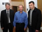 Берти Фогтс встретился с главными тренерами футбольных клубов