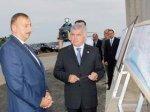 Ильхам Алиев принял участие в открытии моста, построенного близ поселка Мас ...