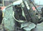 В Азербайджане столкнулись легковой автомобиль и пассажирский микроавтоб ...