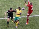 Сборная ЮАР упустила победу в матче открытия ЧМ-2010