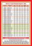 Месяц Рамазан начинается 11 августа, Таблица времени поста и совершения намаза в месяц Рамазан [Таблица]