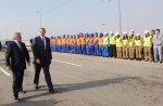 Президент Ильхам Алиев принял участие в открытии Бакинской окружной авто ...